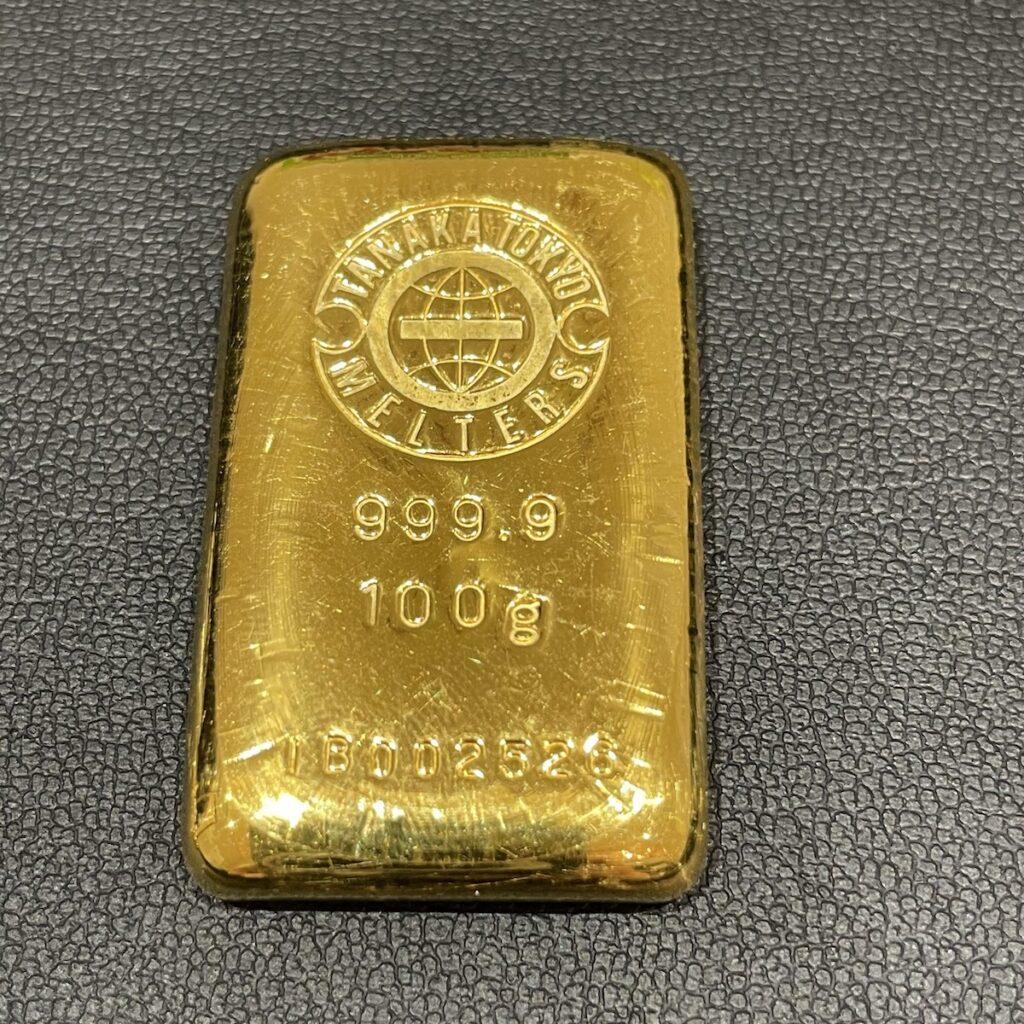 ゴールド インゴット100g