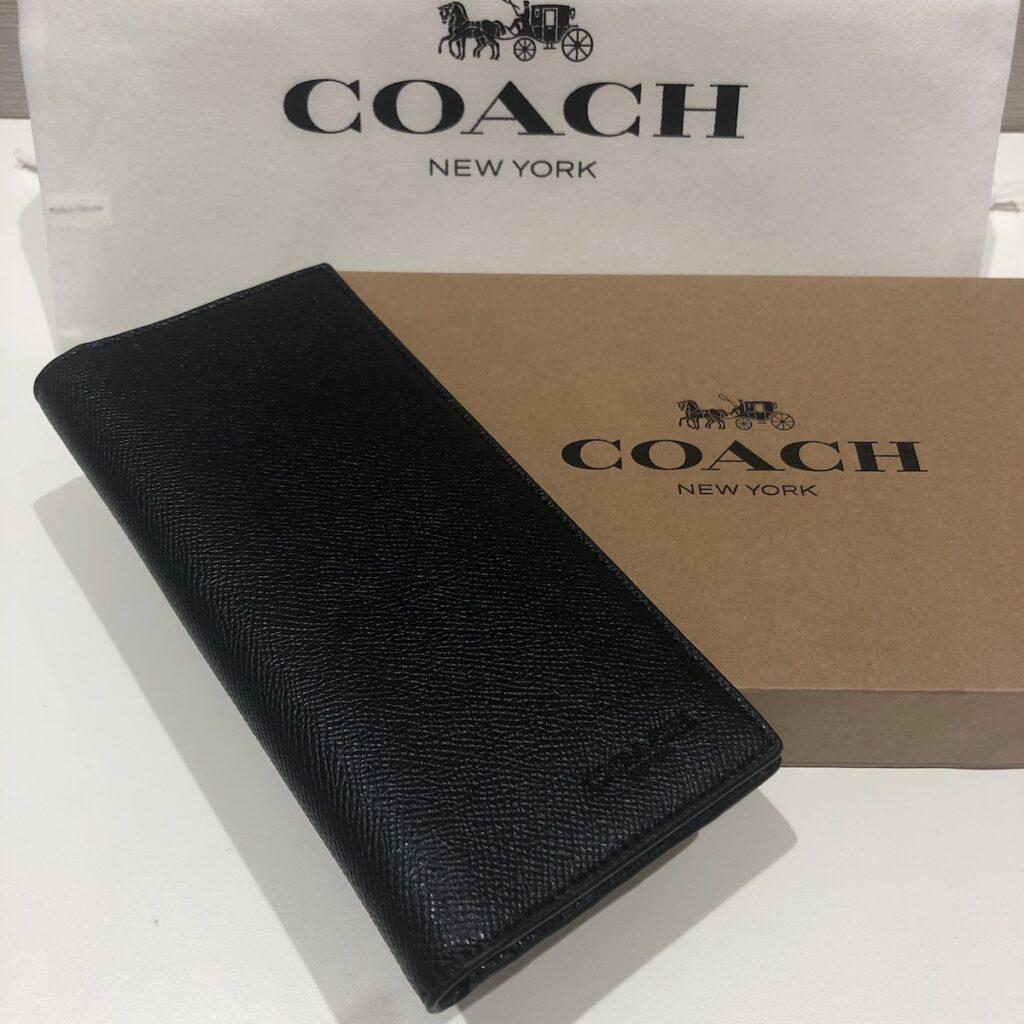 COACH メンズ長財布