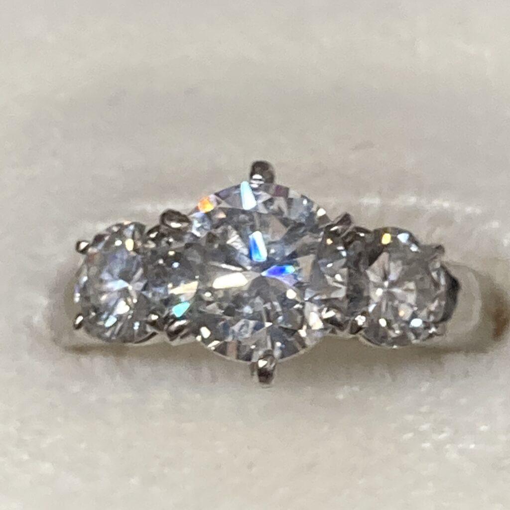 ダイヤモンド プラチナリング
