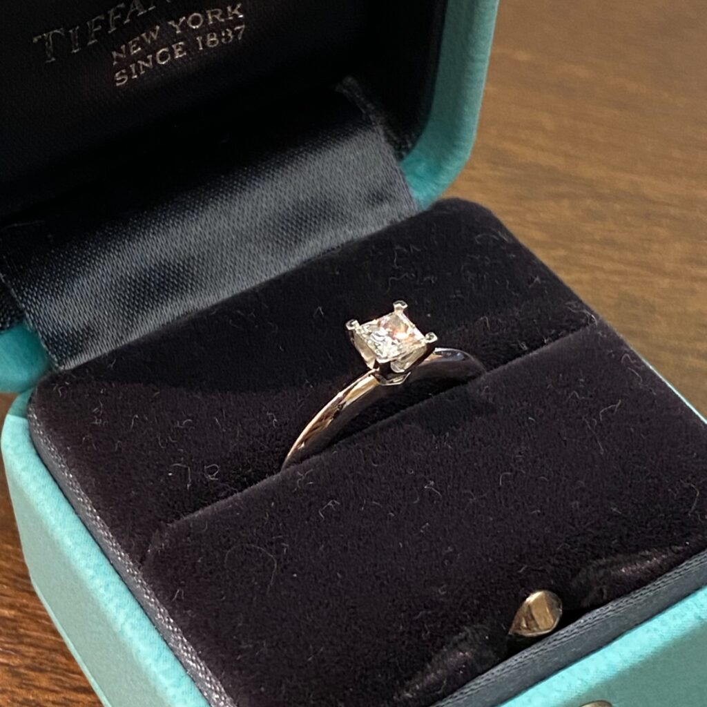 TIFFANY&Co. ティファニー Pt950 プラチナ リング 指輪 ダイヤモンド レディース 装飾小物