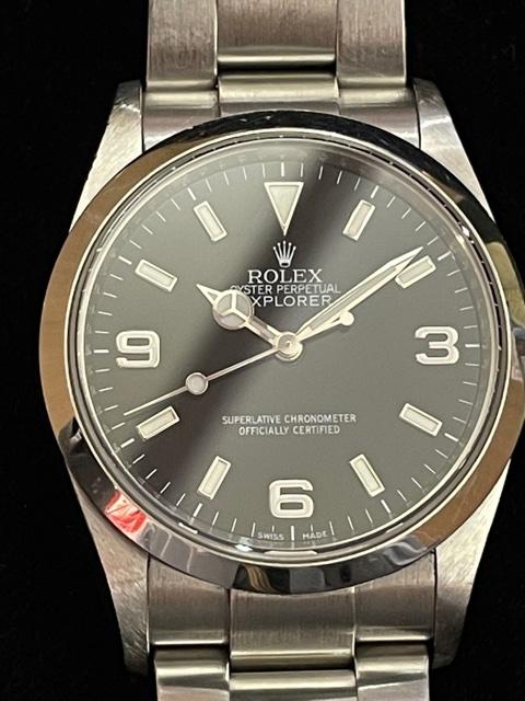 ROLEX ロレックス オイスターパーペチュアル エクスプローラー 腕時計 ブランド メンズ 装飾小物