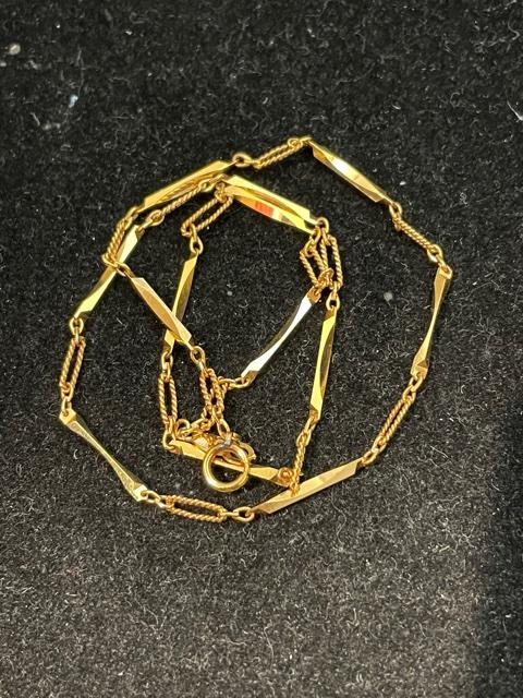 K18 ネックレス チェーン 18金 ゴールド 装飾小物
