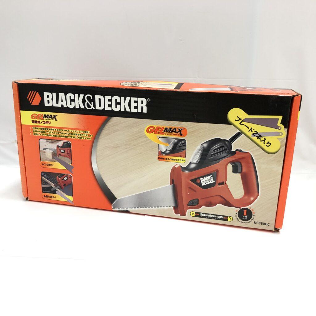 BLACK&DECKER GELMAX 電動式ノコギリ KS880EC 電動工具