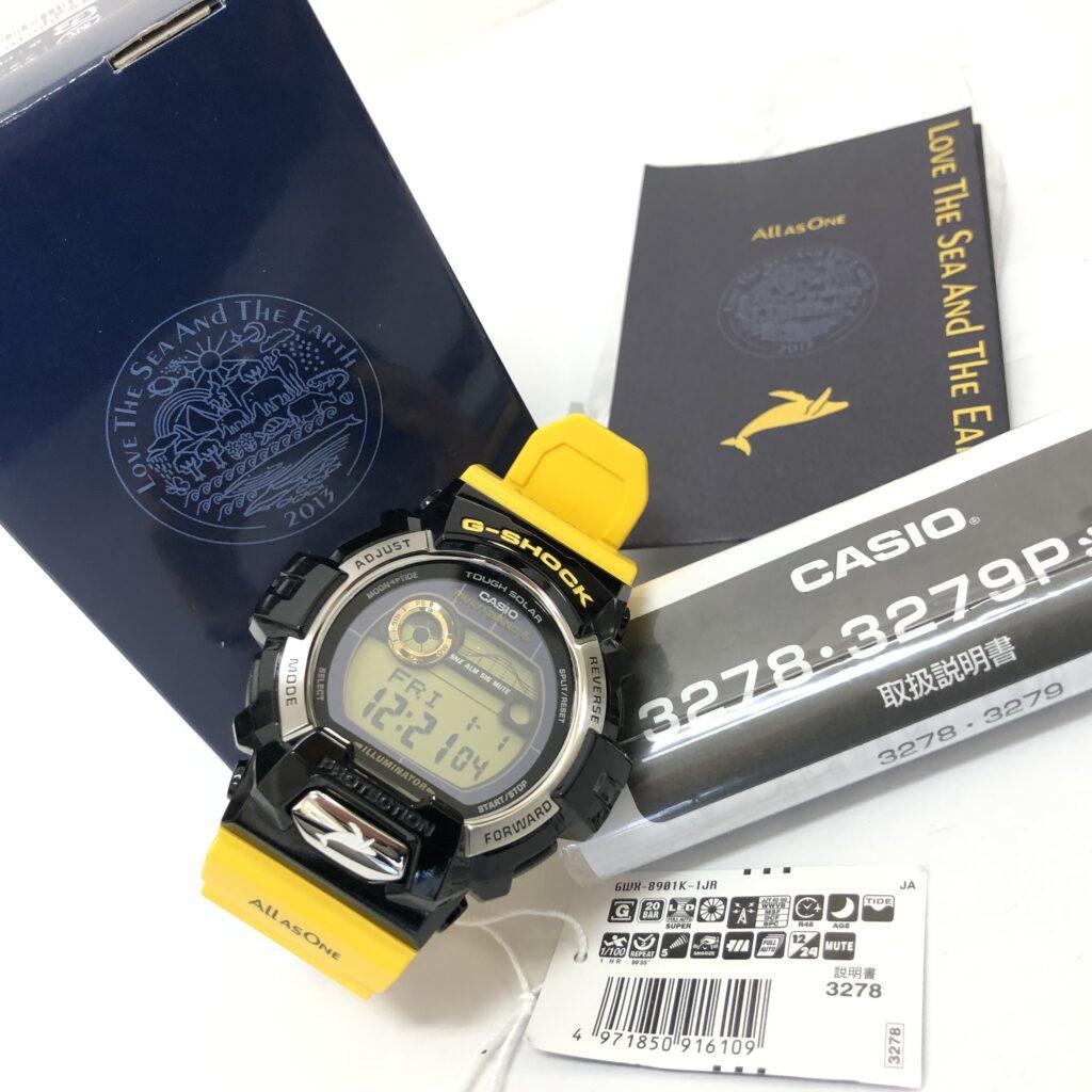 CASIO(カシオ) G-SHOCK GWX-8901K-1JR イルカクジラモデル