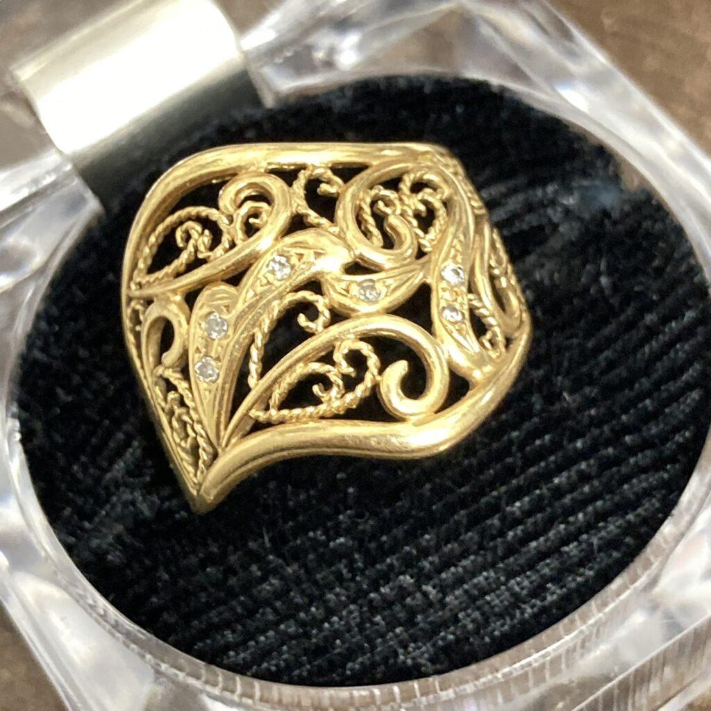 K18 リング 18金 指輪 750