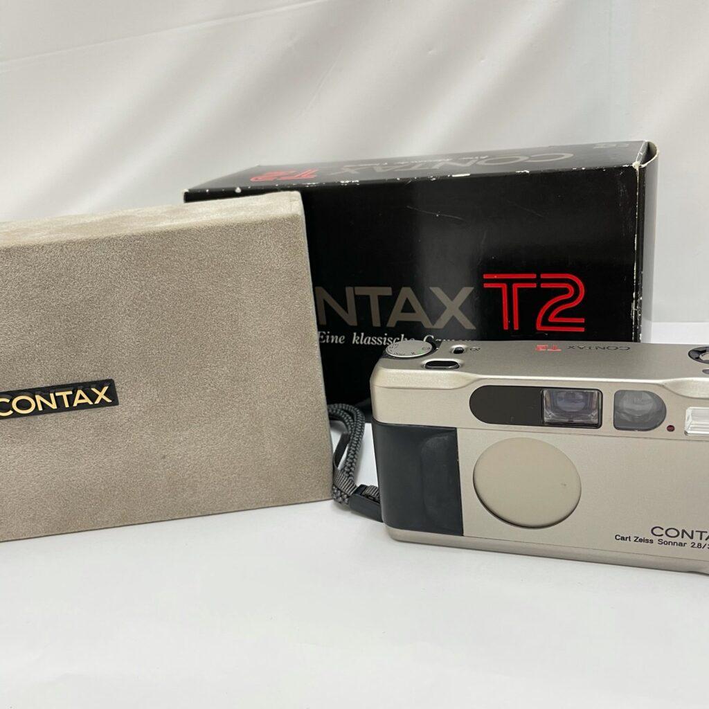 CONTAX T2 コンパクトフイルムカメラ