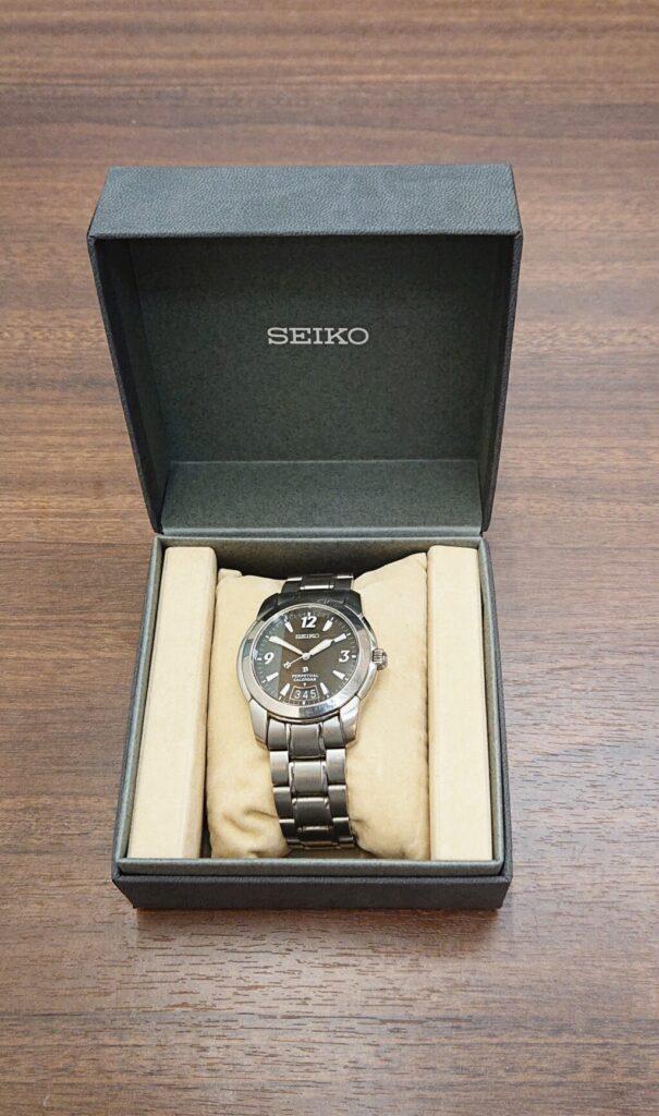 SEIKOブライツ セイコー 腕時計 メンズ 時間 電波 ウォッチ