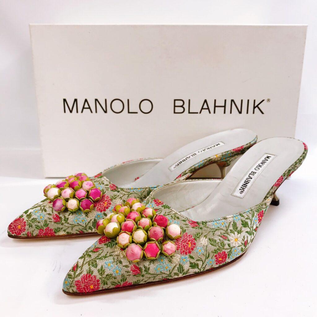 MANOLO BLAHNIK マノロブラニク パンプス