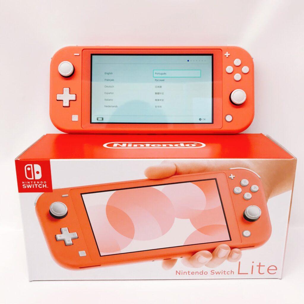 ニンテンドー Switch Lite コーラル