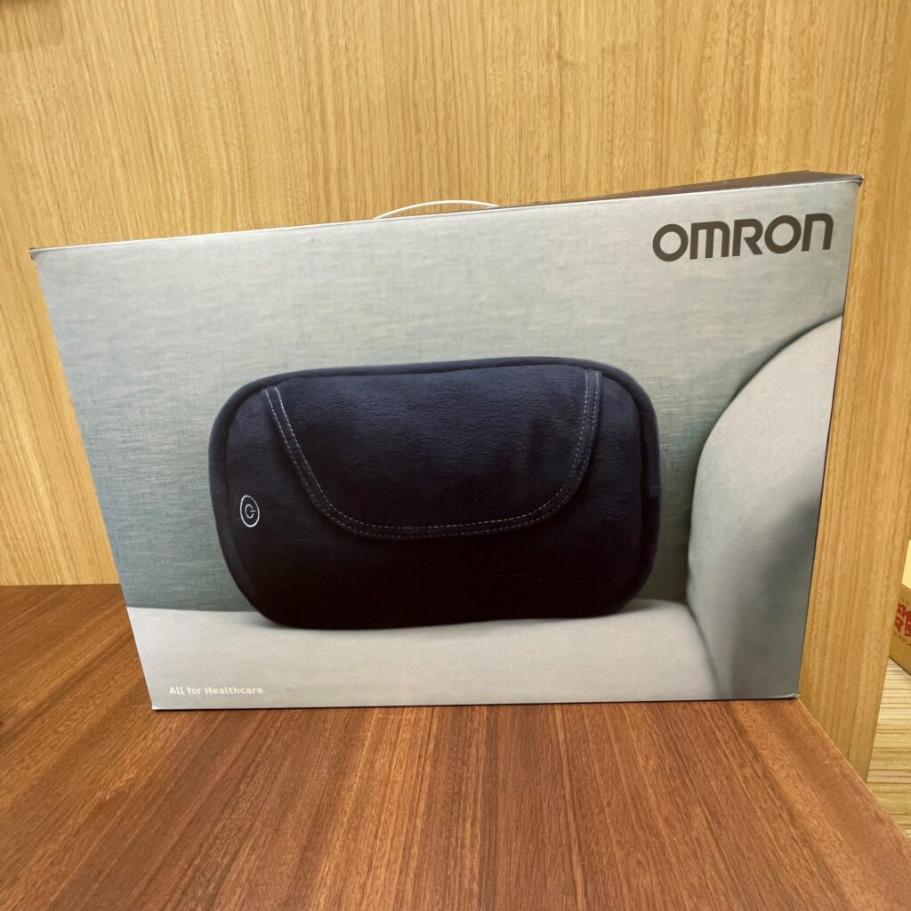 オムロン クッションマッシャージャー
