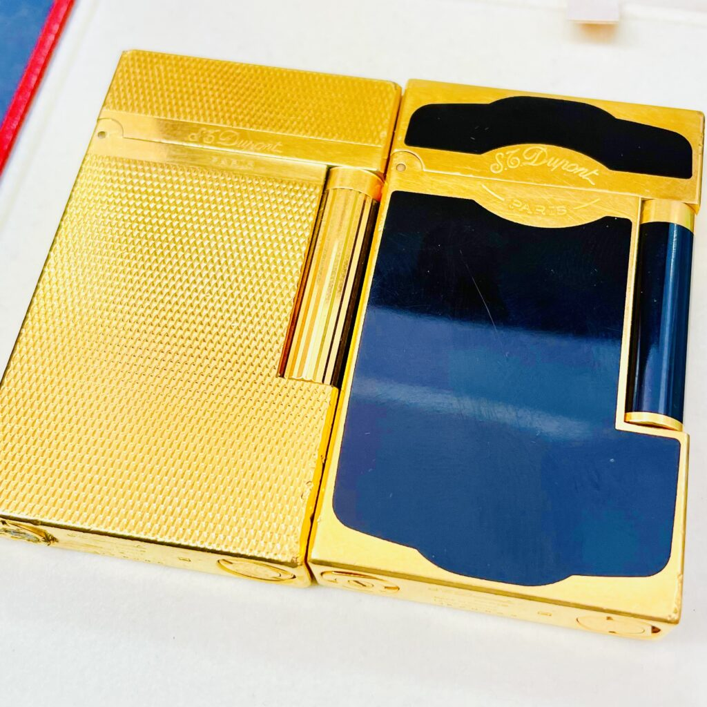 Dupont デュポン 漆 ゴールド ライター