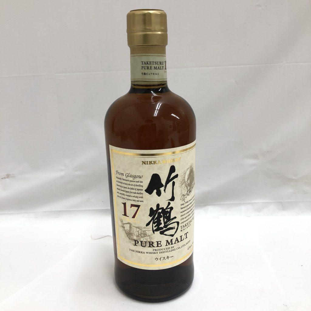 竹鶴17年 ピュアモルト ニッカ ウイスキー