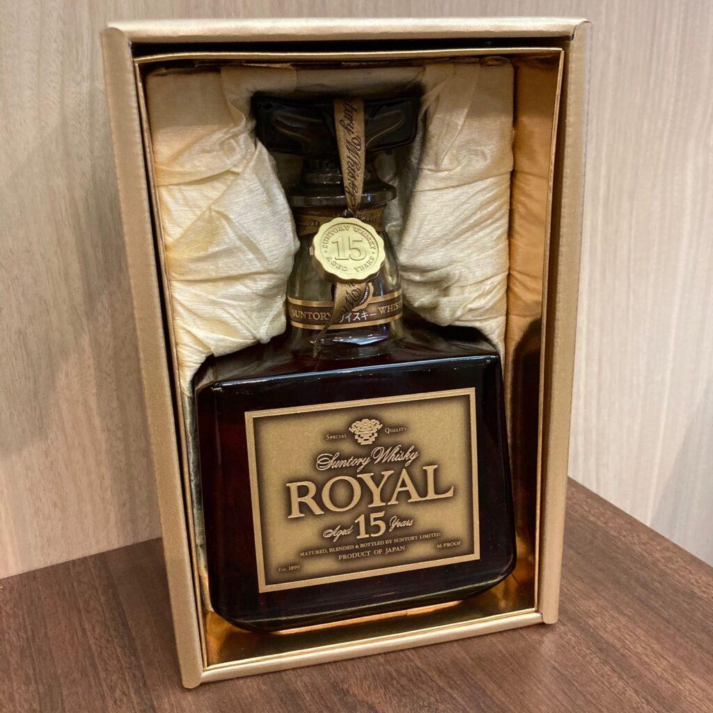 SUNTORY ROYAL サントリー ローヤル 15年 酒 ウイスキー 箱付き 未開栓