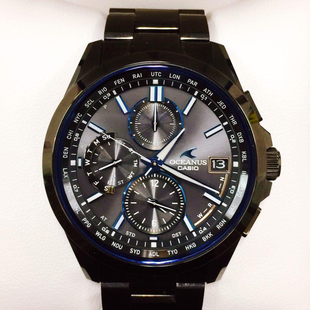 CASIO オシアナス 腕時計