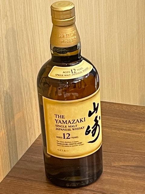 山崎12年 ウィスキー