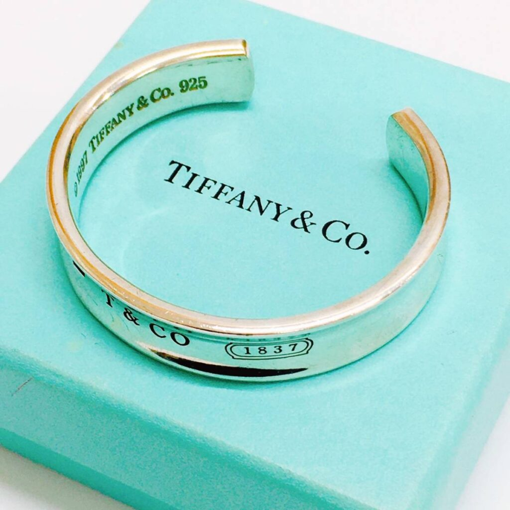 Tiffany&Co. ティファニー ナローカフ バングル