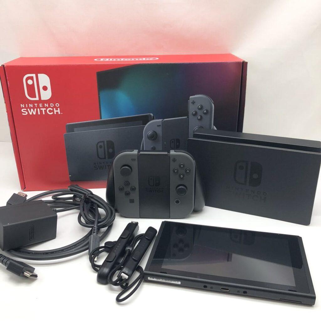 Nintendo Switch ニンテンドースイッチ グレー