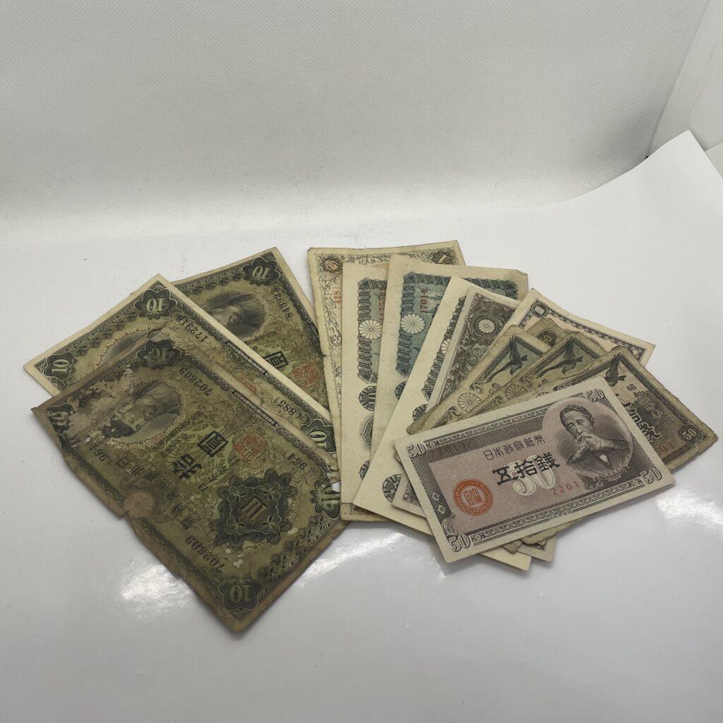 日本銀行券 旧紙幣 まとめ