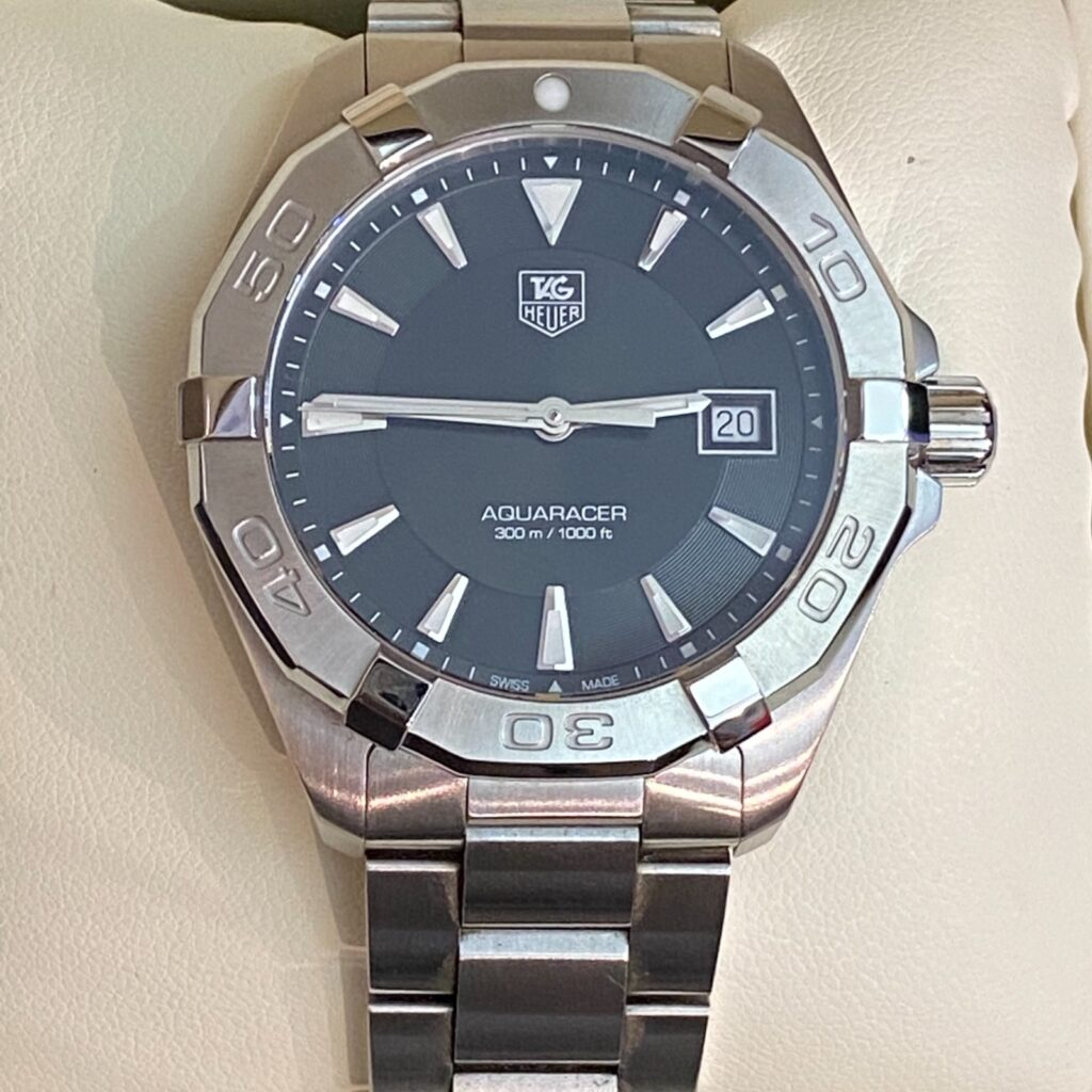 TAG Heuer AQARACER タグ・ホイヤー アクアレーサー 腕時計 メンズ 箱付き 説明書有 美品