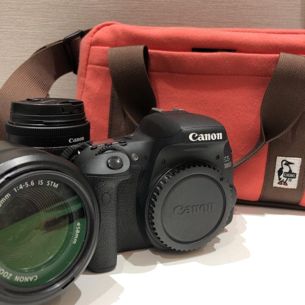 CANON EOS8000D/レンズなど