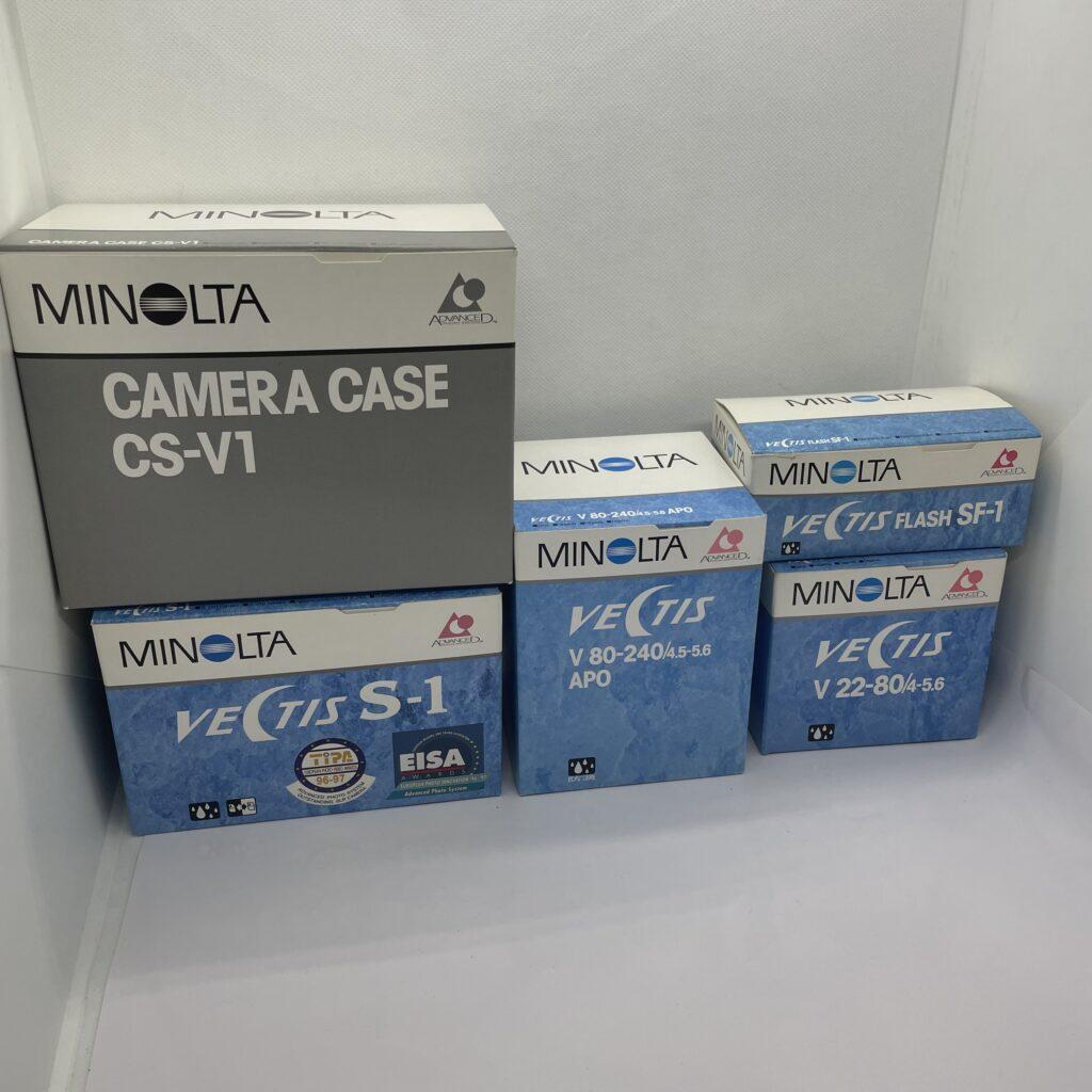ミノルタ MINOLTA VECTIS S-1 V22-80 V80-240 flash SF-1 CS-V1