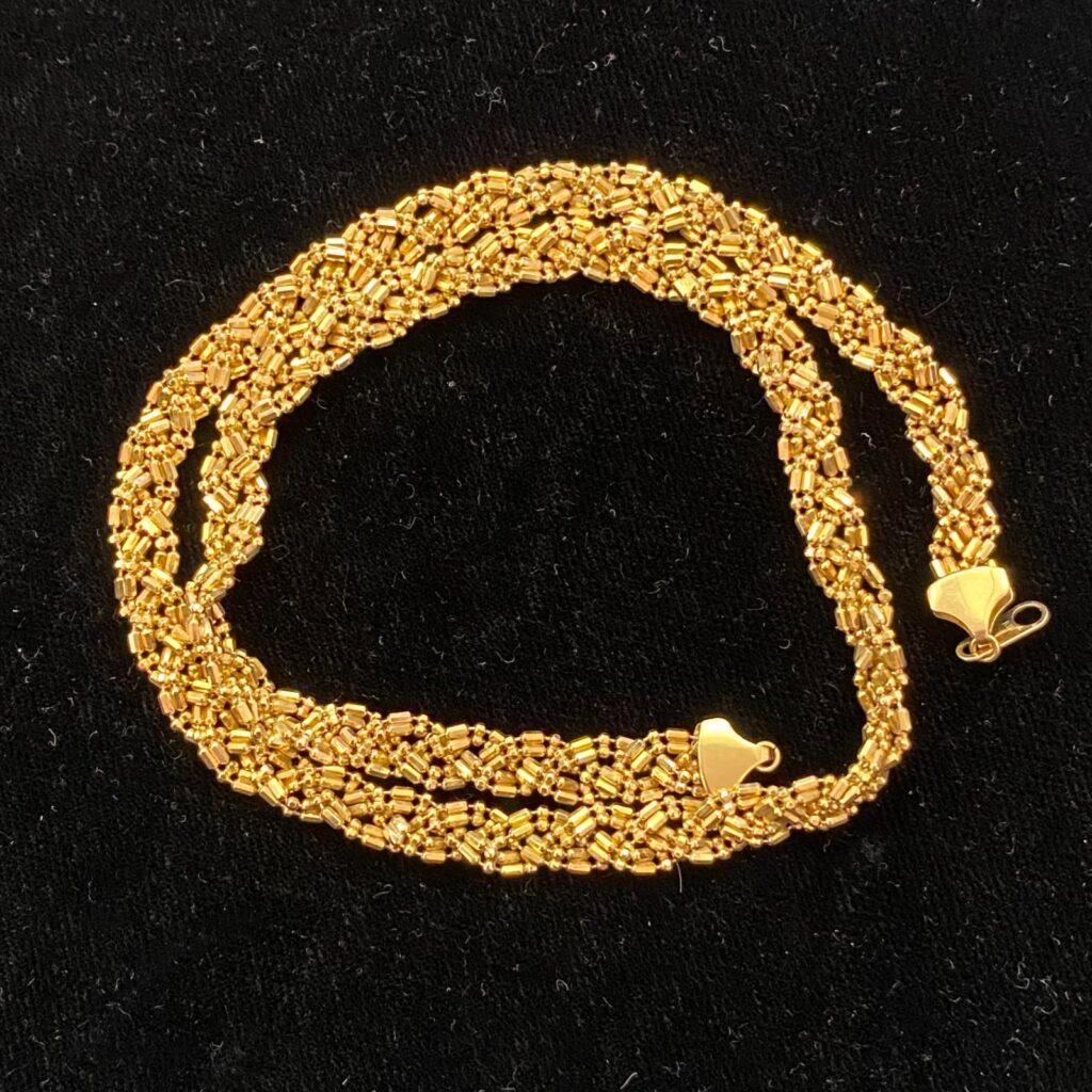 K18 ネックレス 18金 装飾小物 装飾品 ゴールド