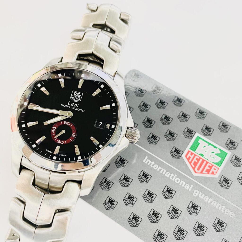 タグホイヤー LINK タイガーウッズ 腕時計