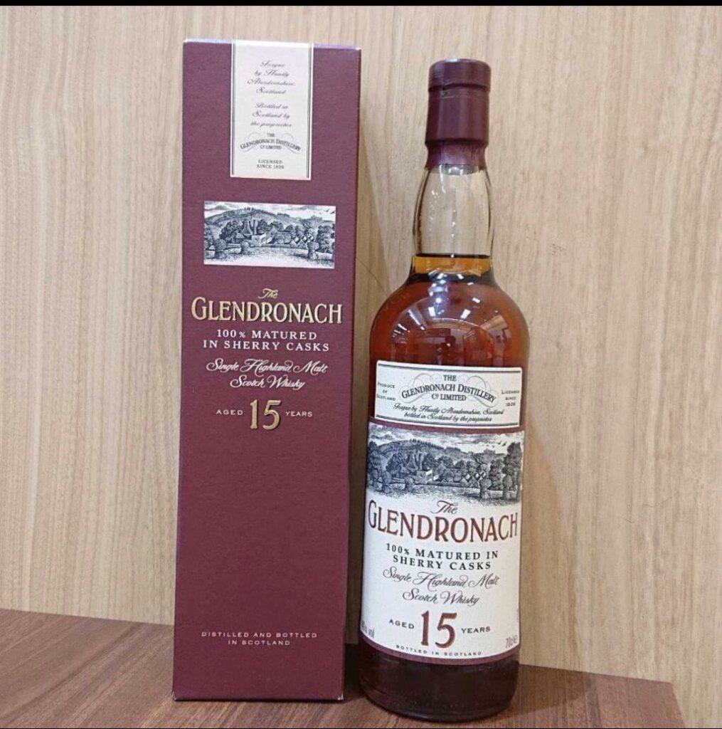 グレンドロナック 15年 シングルモルト ウィスキー