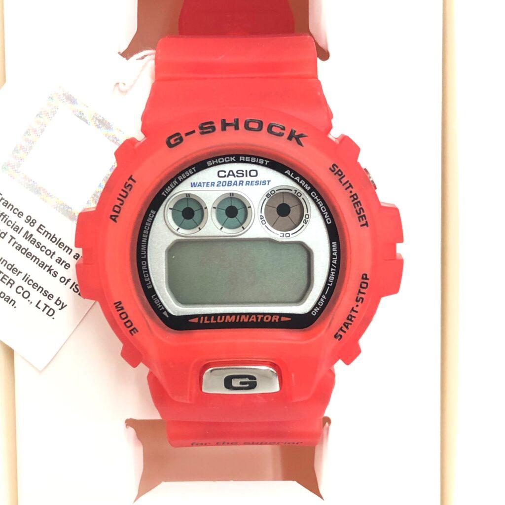 CASIO カシオ G-SHOCK 1998 サッカーフランス W杯 公式モデル 腕時計 DW-6900WF