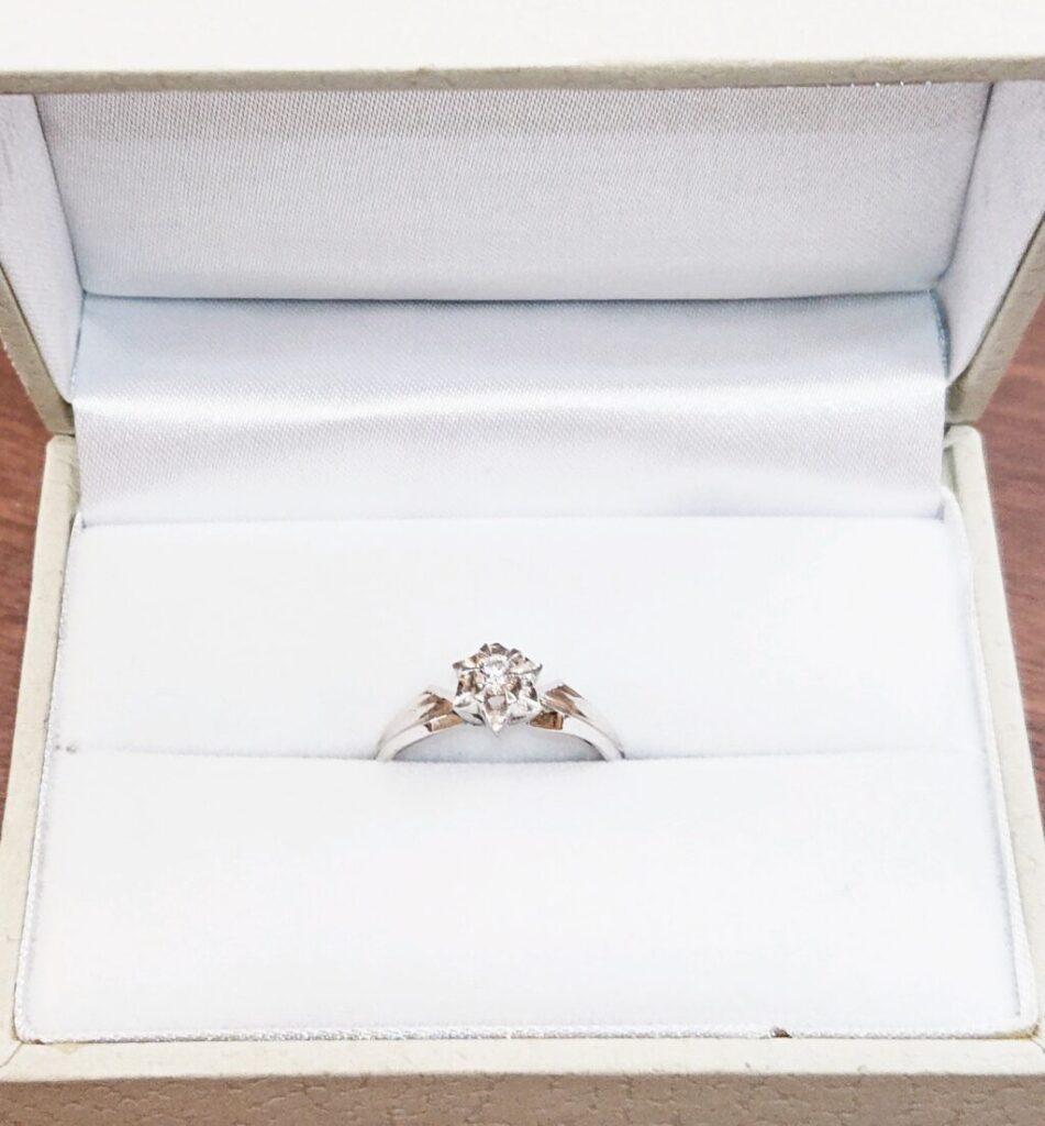 Pt900 婚約指輪 プラチナリング ダイヤモンド ジュエリー 宝石