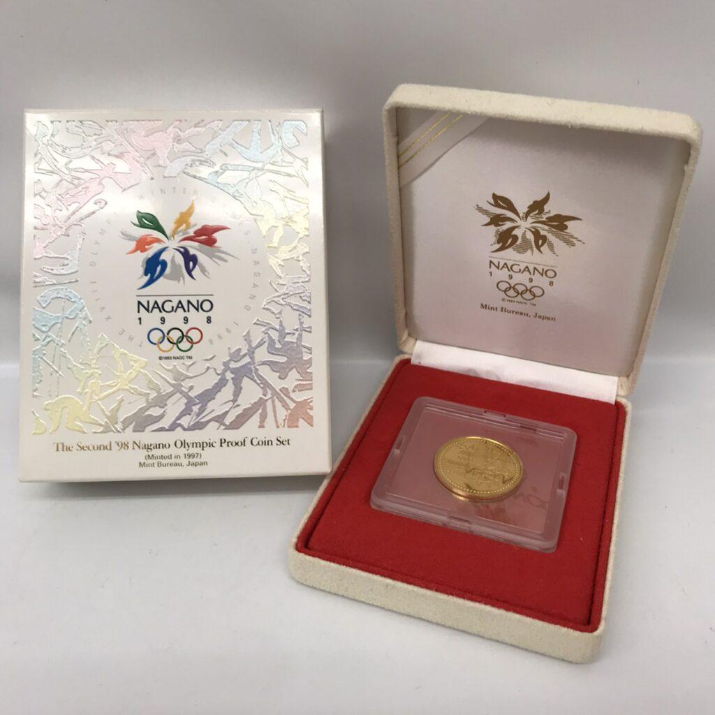 冬季オリンピック 1998 長野 1万円金貨