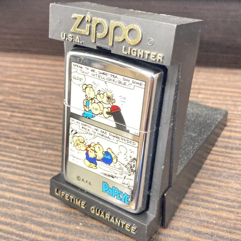 ZIPPO ジッポ オイルライター ポパイ