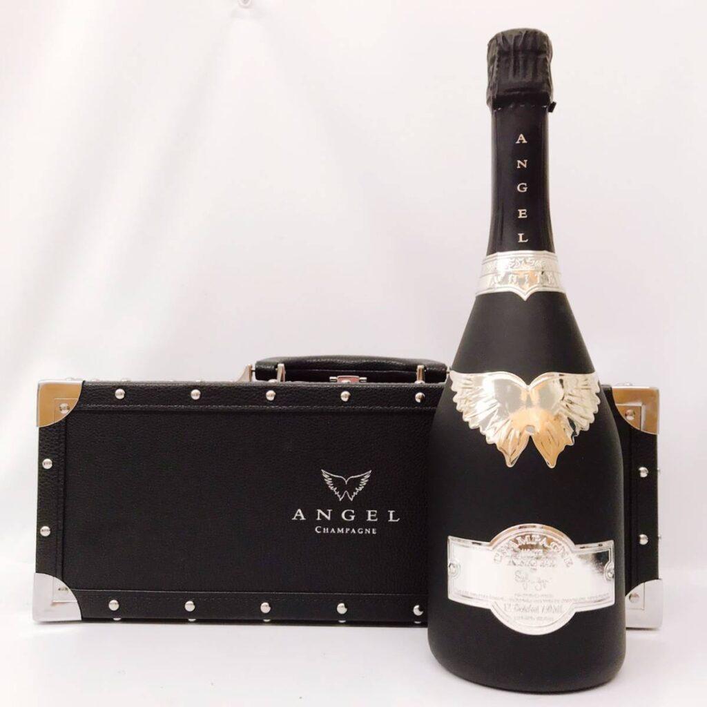 ANGEL CHAMPAGNE NV Brut BLACK エンジェル ブラック ブリュット シャンパン 750ml 12.5%