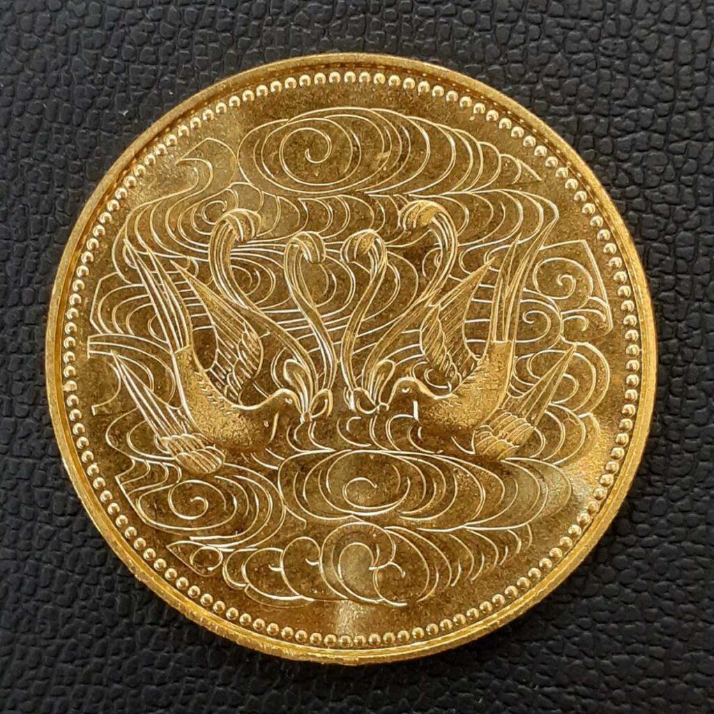 K24 昭和天皇御在位60年記念 10万円金貨