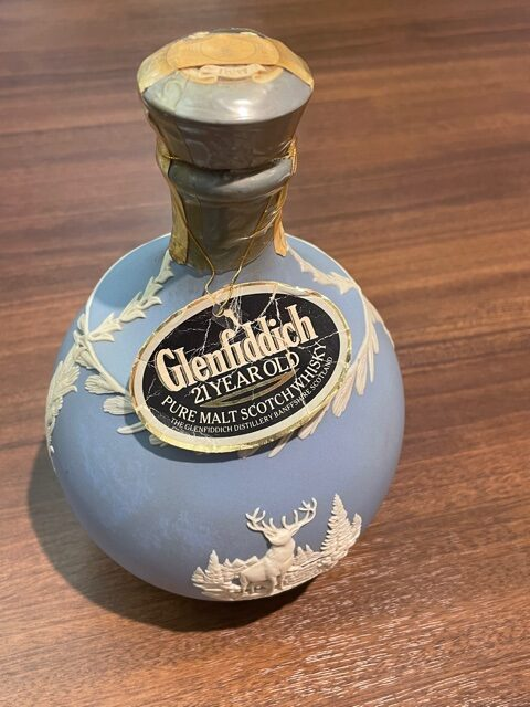 グレンフィディック 21年 WEDGWOOD 陶器ボトル
