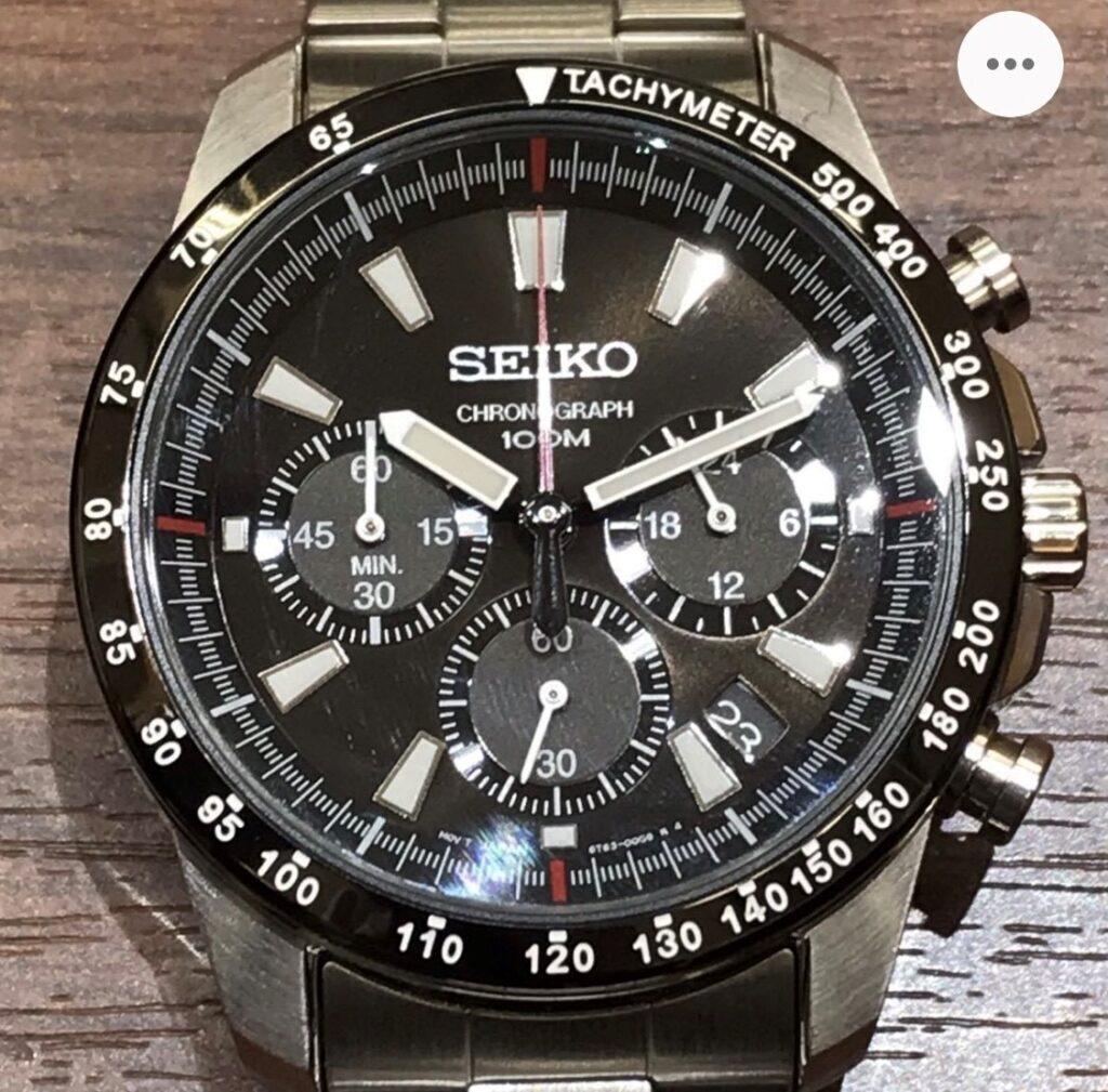 セイコー クロノグラフ 腕時計