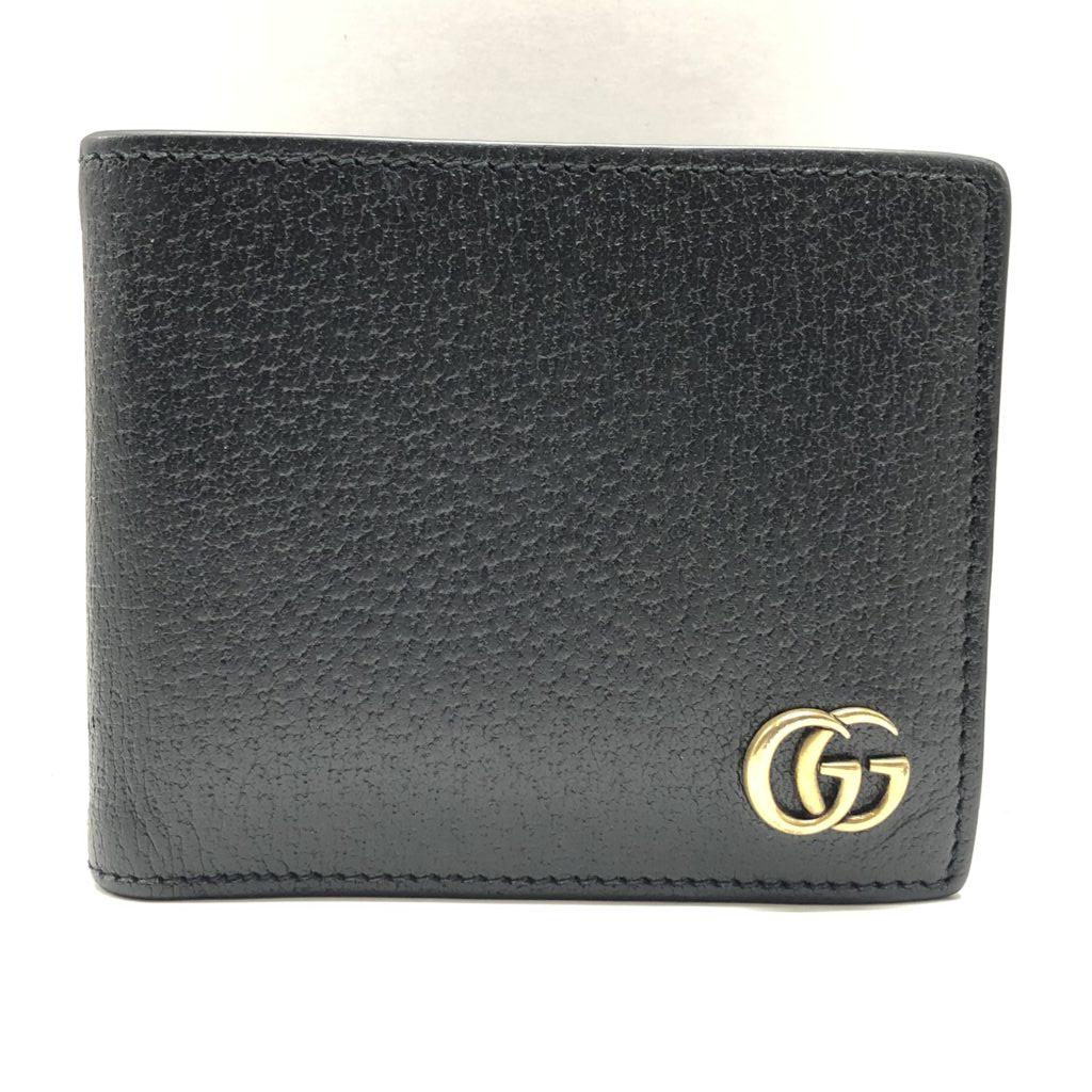 GUCCI グッチ GGマーモント2つ折り財布