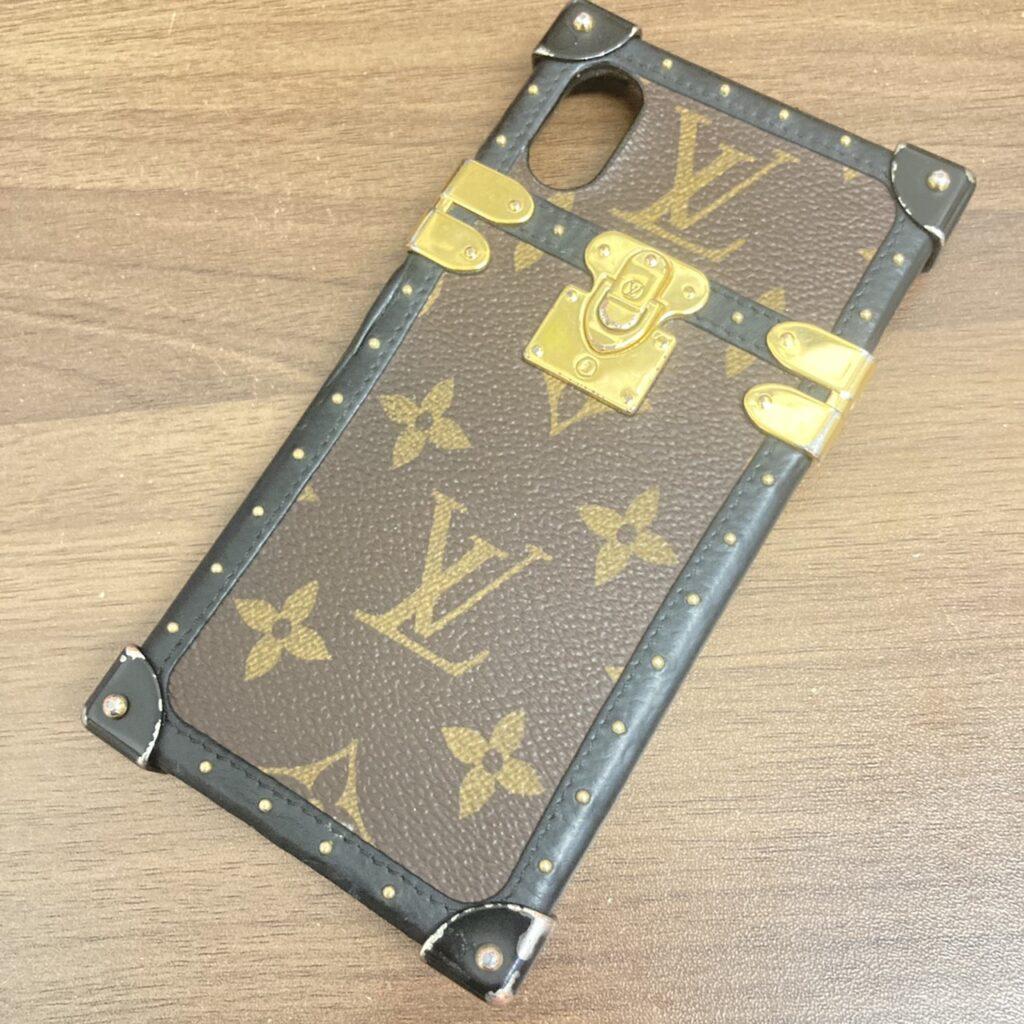 Louis Vuitton ルイヴィトン モノグラム アイ・トランク iPhoneX・XSケース