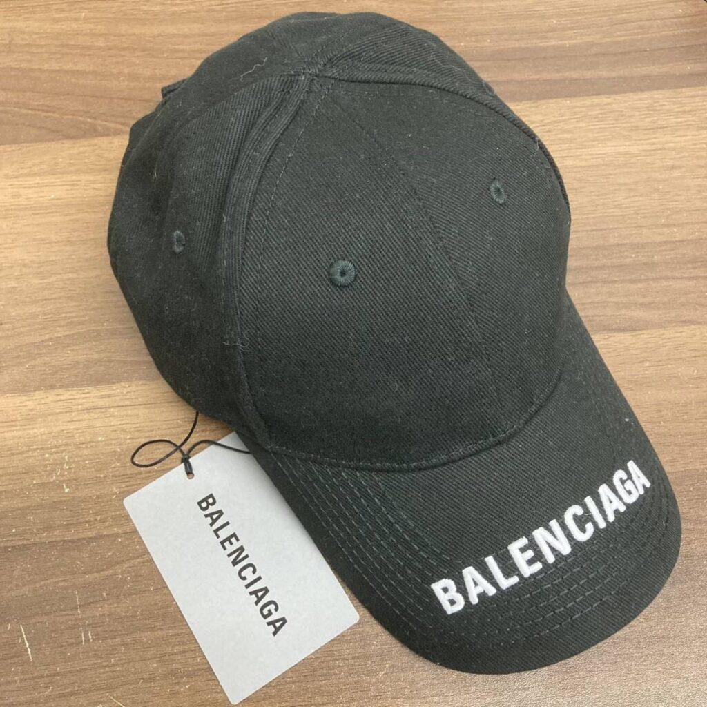 BALENCIAGA キャップ ブラック 帽子 黒 バレンシアガ