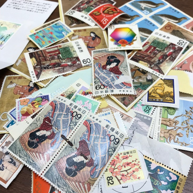 切手 バラ 記念切手 特殊切手
