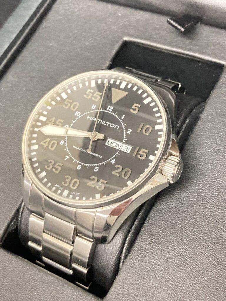 ハミルトン カーキ パイロット デイデイト 腕時計