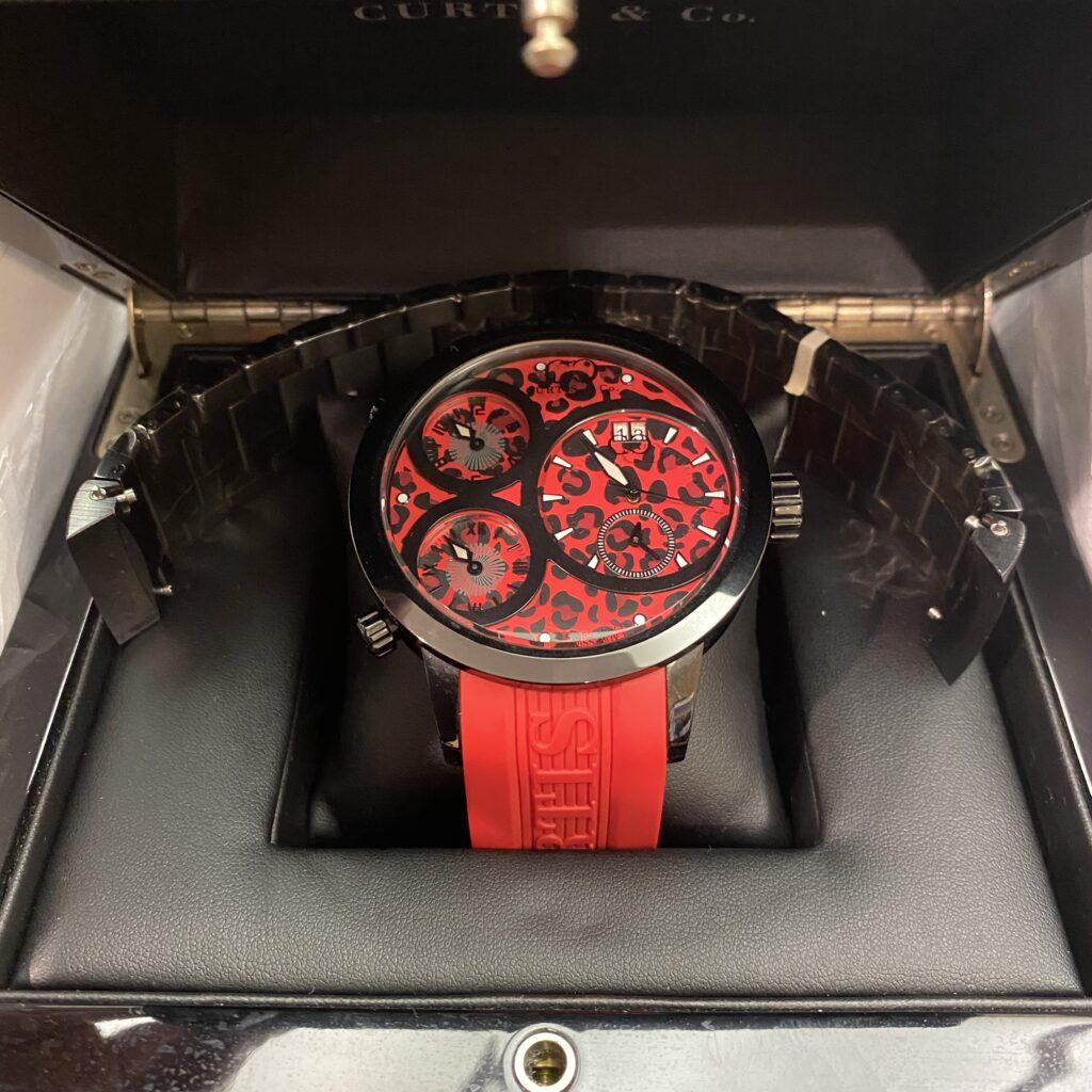 カーティス&コー ビッグタイムワールド 腕時計