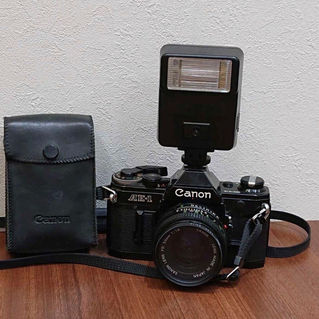 キャノン AE-1 フィルムカメラ