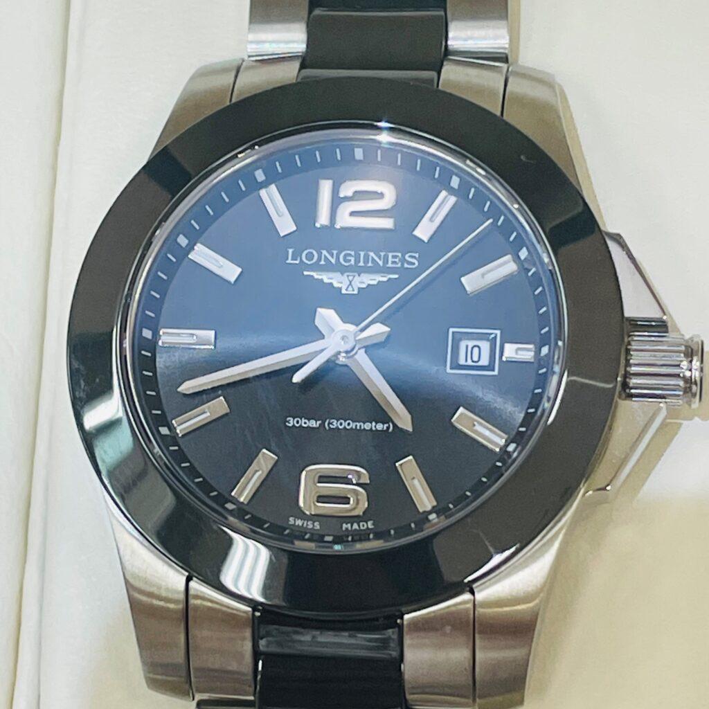 Longines コンクエスト デイト 腕時計