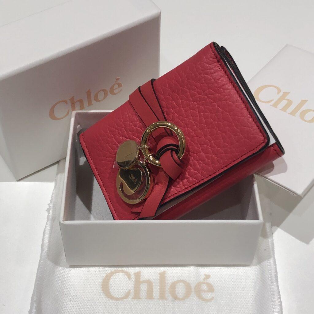 クロエ ミニ財布