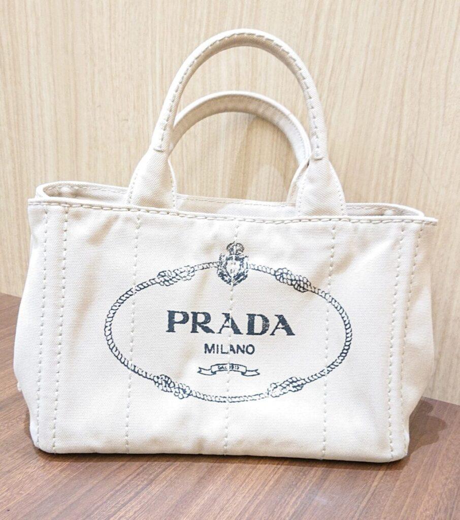 PRADA プラダ ミラノ カナパ 2WAYバッグ トートバッグ