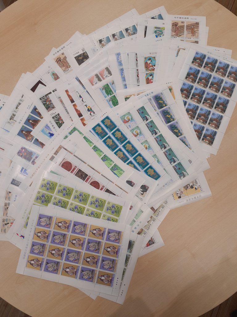 切手シート おまとめ