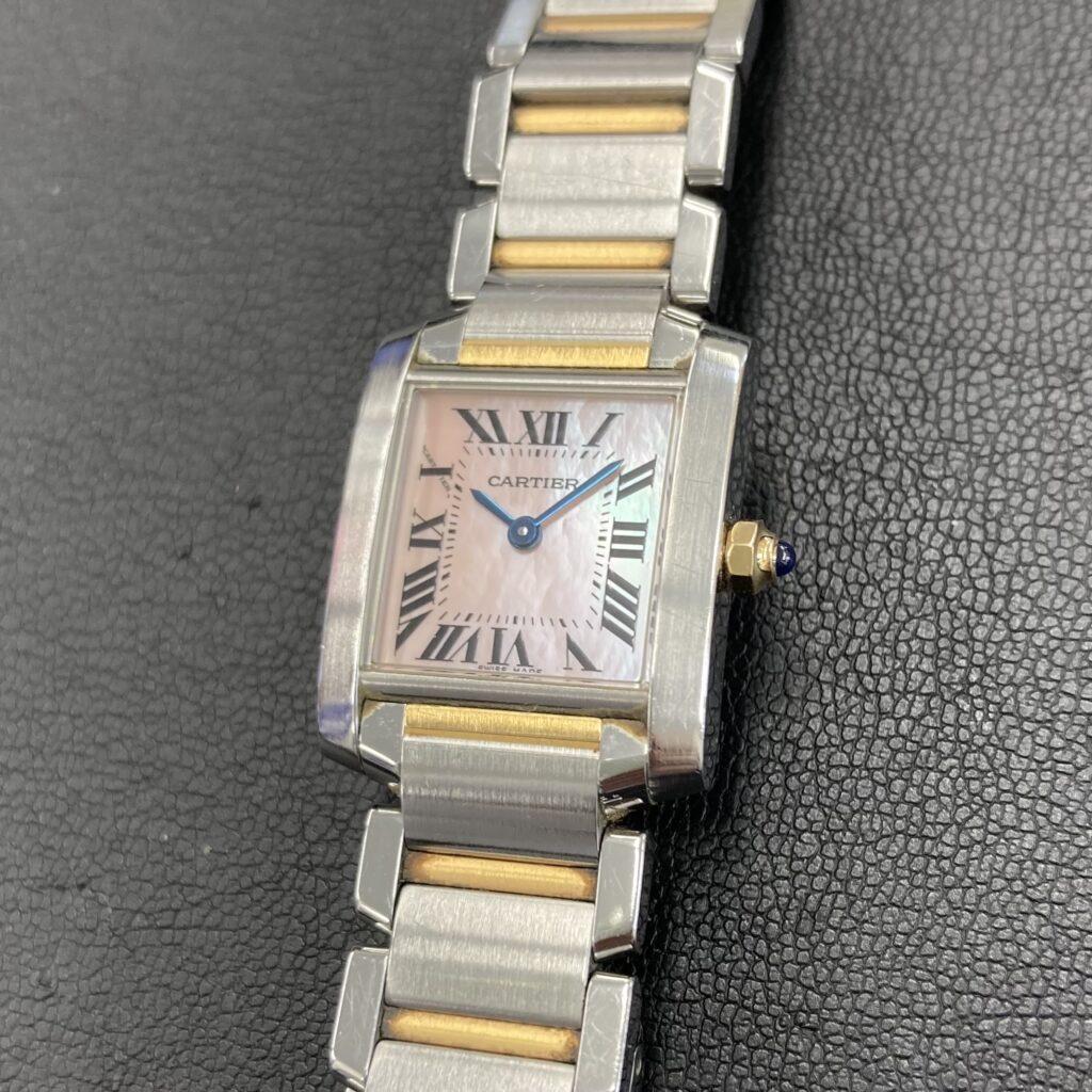 Cartier カルティエ タンク フランセーズ 腕時計