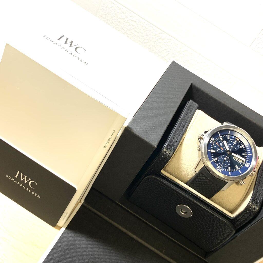 IWC アクアタイマー クロノグラフ 腕時計