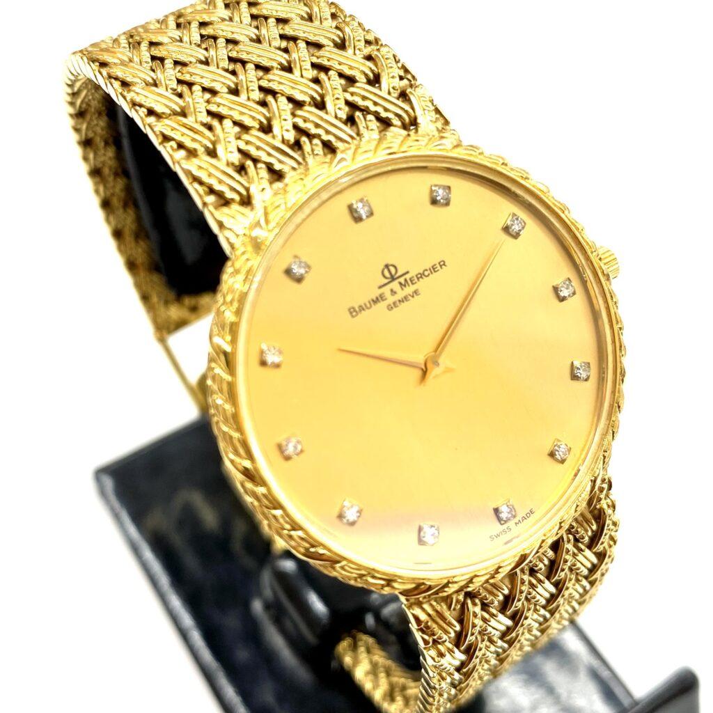 BAUME&MERCIER ボーム&メルシエ 15600 9 K18 腕時計